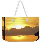 Key West Balcony Sunset Weekender Tote Bag