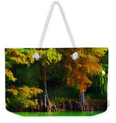 Bald Cypress 3 - Digital Effect Weekender Tote Bag