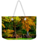 Bald Cypress 4 - Digital Effect Weekender Tote Bag