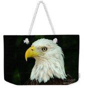 Bald Eagle-42 Weekender Tote Bag