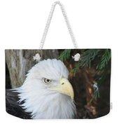 Bald Eagle #3 Weekender Tote Bag