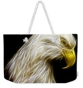 Bald Eagle Fractal Weekender Tote Bag