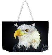 Bald Eagle Hailaeetus Leucocephalus Wildlife Rescue Weekender Tote Bag