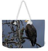 Bald Eagle On Watch Weekender Tote Bag