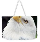Bald Eagle - Power And Poise 03 Weekender Tote Bag