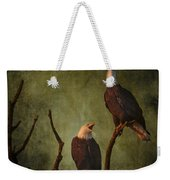 Bald Eagle Serenade Weekender Tote Bag