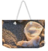 Bald Head Island Shells Weekender Tote Bag
