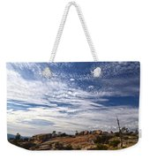 Bald Rock Glacial Erratics Weekender Tote Bag