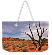 Bald Tree At Arches  Weekender Tote Bag