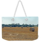 Bales Of Hay Weekender Tote Bag