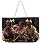 Bali Indonesia Proud People 3 Weekender Tote Bag