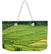 Bali Indonesia Rice Fields Weekender Tote Bag