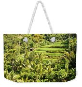 Bali Sayan Rice Terraces Weekender Tote Bag