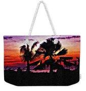 Bali Sunset Impasto Paint Version Weekender Tote Bag