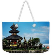 Bali Wayer Temple Weekender Tote Bag
