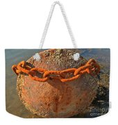 Ball And Chain Weekender Tote Bag by Adam Jewell
