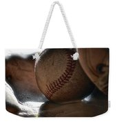 Ball And Glove Still Life Weekender Tote Bag