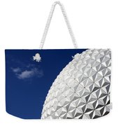 Ball In The Blue Weekender Tote Bag
