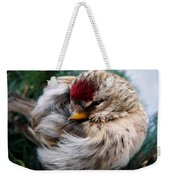 Ball Of Feathers Weekender Tote Bag by Christina Rollo