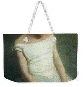 Ballerina Female Dancer Weekender Tote Bag by Angelo Morbelli