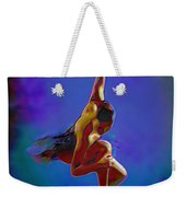 Ballerina On Point Weekender Tote Bag