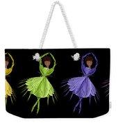 Ballerina Rainbow 2 Weekender Tote Bag
