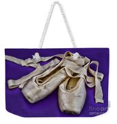 Ballerina Slippers Weekender Tote Bag