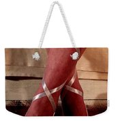 Ballerina With Bows 2 Weekender Tote Bag