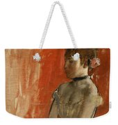 Ballet Dancer With Arms Crossed Weekender Tote Bag