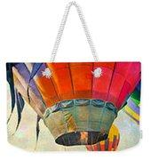 Balloon Banner Weekender Tote Bag