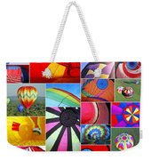 Balloon Fantasy Collage Weekender Tote Bag