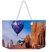 Balloon Festival In Monument Valley Weekender Tote Bag