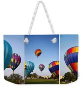 Balloon Festival Panels Weekender Tote Bag