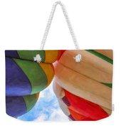 Balloon Fist Bump Weekender Tote Bag