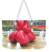 Balloon Flower In The Water Weekender Tote Bag