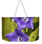 Balloon Flower Weekender Tote Bag by Marcia Colelli