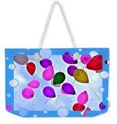 Balloon Frenzy Weekender Tote Bag