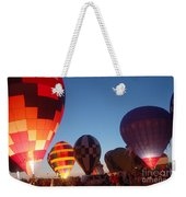 Balloon-glow-7783 Weekender Tote Bag