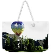 Balloon House Weekender Tote Bag
