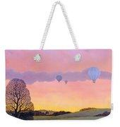 Balloon Race Weekender Tote Bag