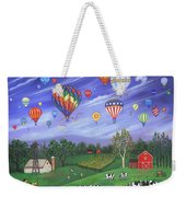 Balloon Race One Weekender Tote Bag