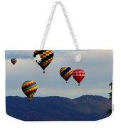 Balloon Rise Weekender Tote Bag