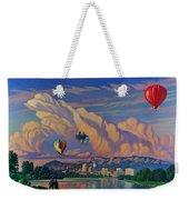 Ballooning On The Rio Grande Weekender Tote Bag