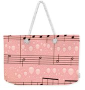 Balloons And Music Weekender Tote Bag