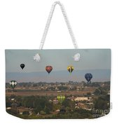 Balloons Over The Valley Weekender Tote Bag