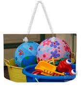 Balls And Toys In Buckets Weekender Tote Bag