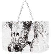 Balon Polish Arabian Horse Portrait 2  Weekender Tote Bag