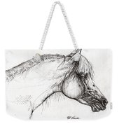 Balon Polish Arabian Horse Portrait 3 Weekender Tote Bag