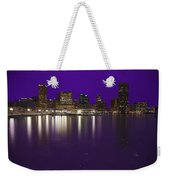 Baltimore Bleeds Purple Believe Weekender Tote Bag