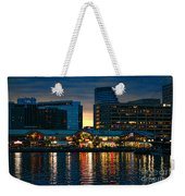 Baltimore Harborplace Light Street Pavilion Weekender Tote Bag